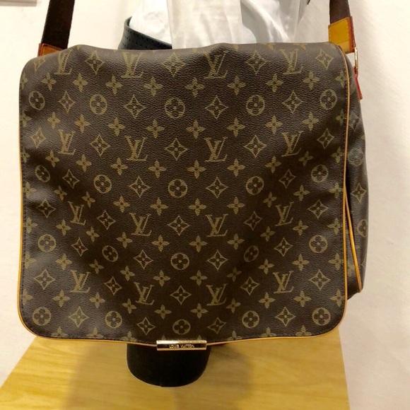 5753a8c5398e Louis Vuitton Other - LOUIS VUITTON MONOGRAM ABBESSES MESSENGER BAG